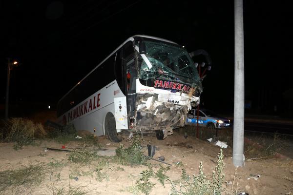 Yolcu otobüsü şarampole uçtu: Çok sayıda yaralı var