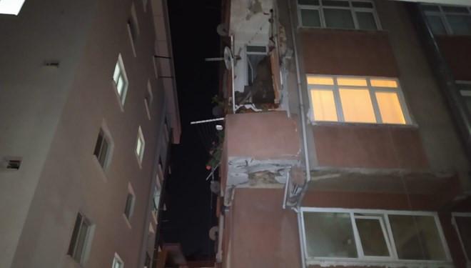 İstanbul'da korkunç olay! ''Bina yıkılıyor zannettik''