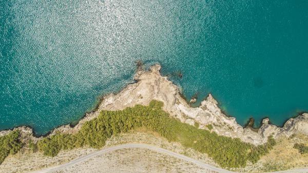 Acıgöl'ün suları 6- 7 metre çekildi