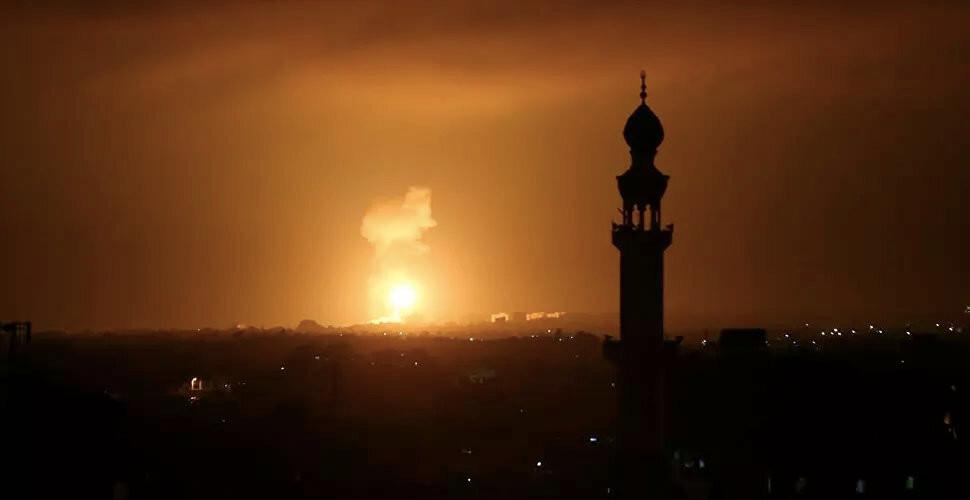 İsrail, Gazze'yi top atışı ile vurdu!