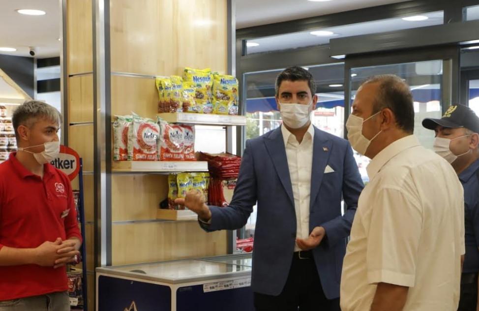 Kartal'da 'Sağlık İçin Hepimiz İçin' denetimi