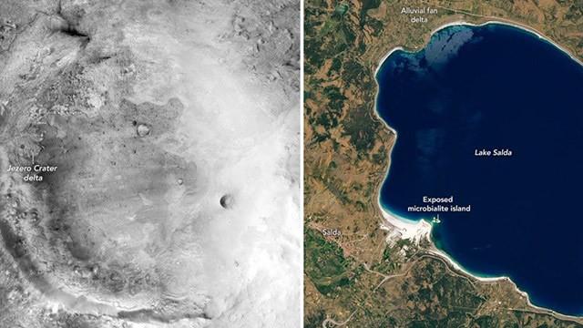 Salda Gölü, Mars'a giden uzay aracına rehber olacak