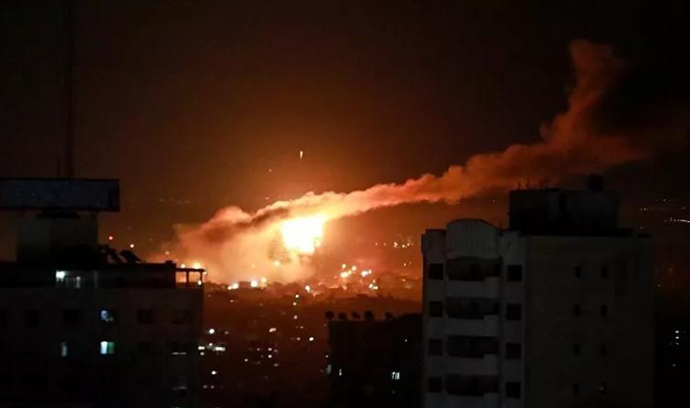 İsrail, Gazze'yi bir kez daha vurdu!