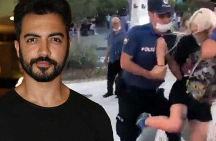 Yusuf Güney'den kadına şiddet uygulayan polislere destek