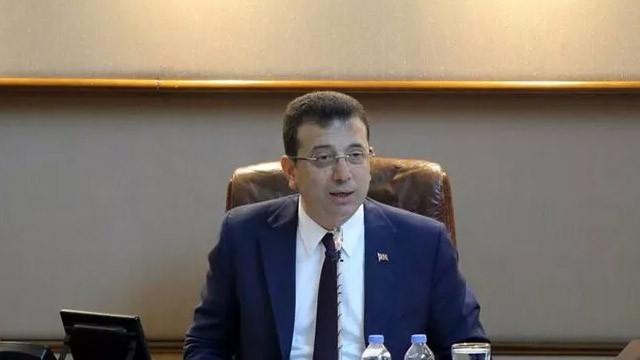 İBB Başkanı İmamoğlu'ndan ''müjde'' açıklaması