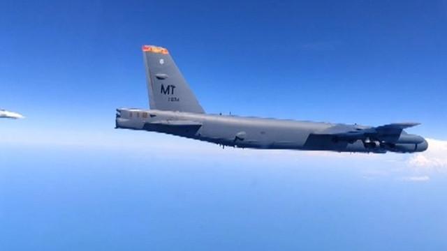 Karadeniz'de Rus uçakları ABD uçaklarını böyle önledi