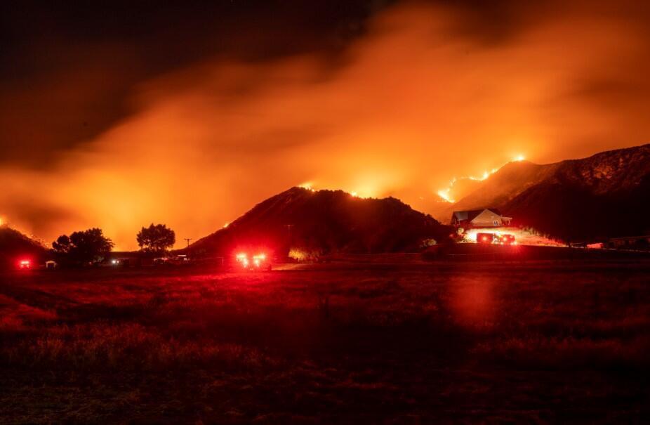 ABD'de yangın paniği! 1 haftadır söndürülemiyor