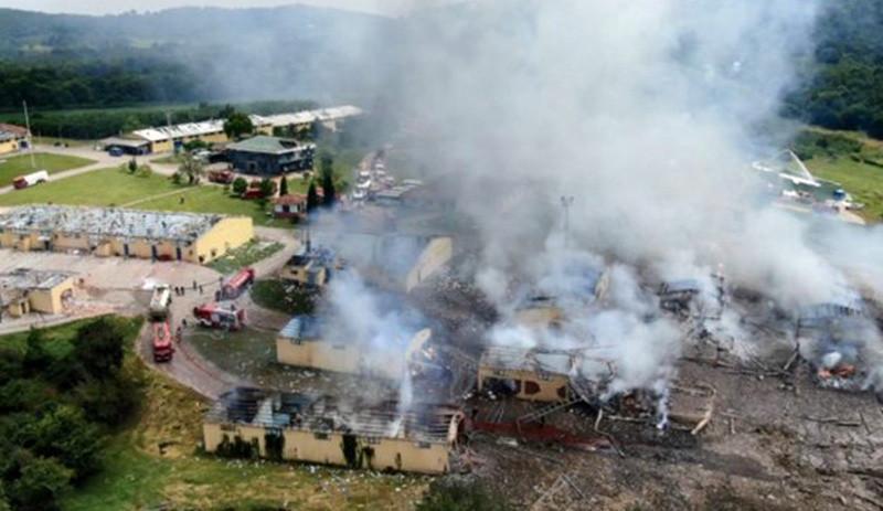 7 kişinin öldüğü havai fişek faciası raporu tamamlandı