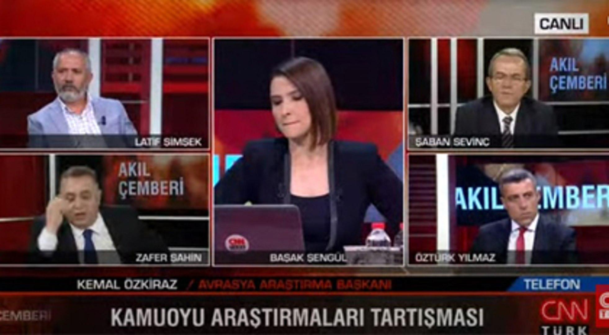 CNN Türk'te ortalık fena karıştı