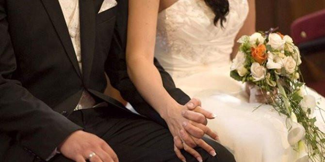 Önce düğün sonra hastane! Gelin koronavirüse yakalandı