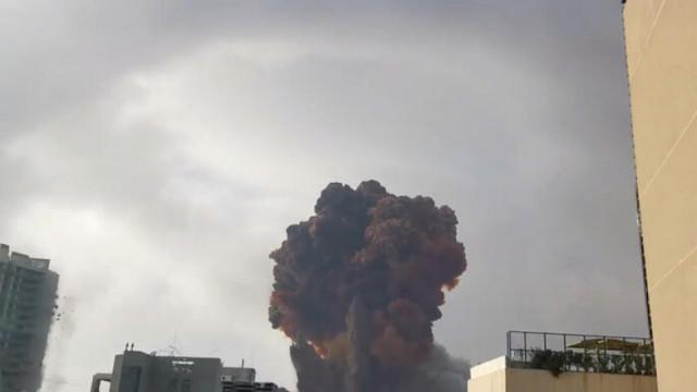 Beyrut'taki patlama Kıbrıs'ta deprem etkisi yarattı