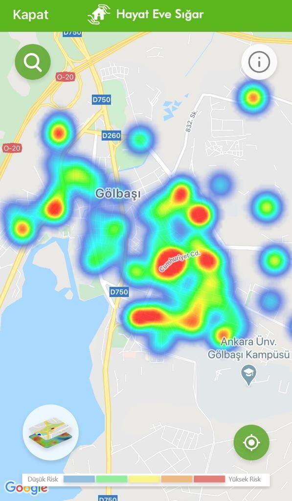 Ankara alarm veriyor! İşte ilçe ilçe Ankara'nın koronavirüs haritaları