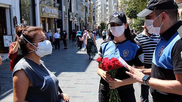 İstanbul'da kadınlara ''KADES'' bilgilendirmesi