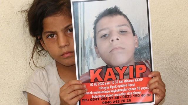 Şanlıurfa'da 10 yaşındaki Hüseyin'den 4 gündür haber alınamıyor
