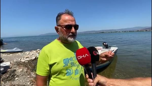 İznik Gölü çekildi, halk tedirgin oldu!
