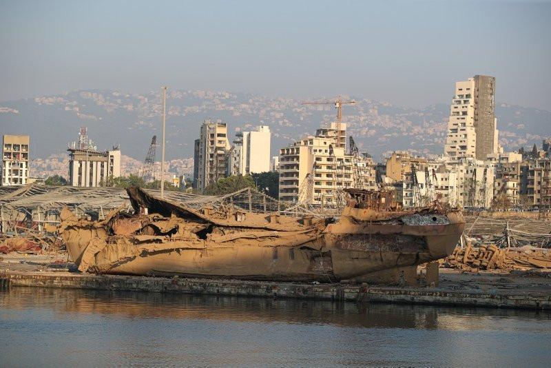 İşte Beyrut'u ölüme boğan patlayıcıların görüntüleri