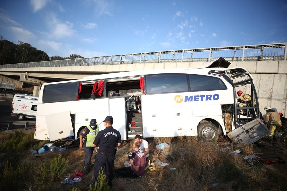 İstanbul'da katliam gibi kaza: 5 ölü, 25 yaralı