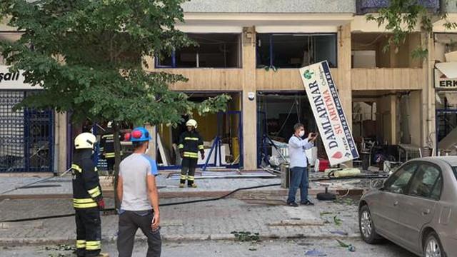 Konya'da korkutan doğalgaz patlaması