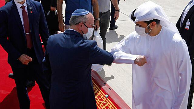 İsrailli heyetin Abu Dabi'ye yaptığı ziyareti büyük yankı uyandırdı