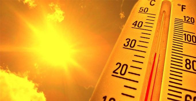 Hava sıcaklıkları için korkutan uyarı
