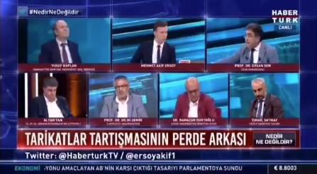 Canlı yayında Türkiye'ye ''cemaat'' ve ''tarikat'' dersi!
