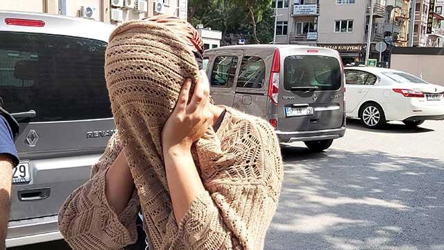 Temizliğe gittiği evde 10 bin 400 euro çalan kadın tutuklandı