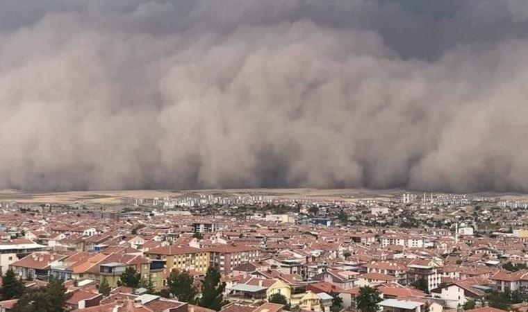 Ankara'yı birbirine katmıştı! Toz fırtınası devam edecek!