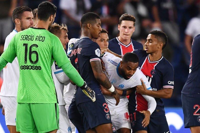 PSG - Marsilya maçında tam 5 kırmızı kart... - Resim: 4