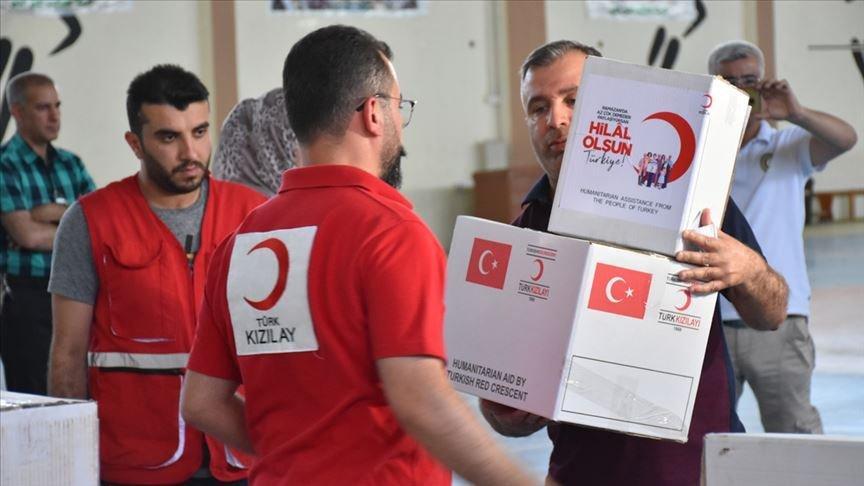 Suriye'de Kızılay aracına saldırı: 1 şehit 1 yaralı