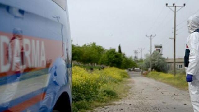 Kütahya'da bir mahalleye koronavirüs karantinası