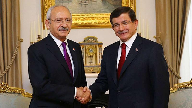 Davutoğlu ile görüşen Kılıçdaroğlu'ndan ittifak açıklaması