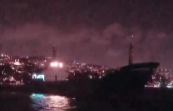 İstanbul Boğazı'nda facia ucuz atlatıldı!