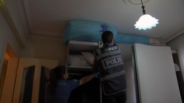 Samsun'da özel harekat destekli uyuşturucu operasyonu