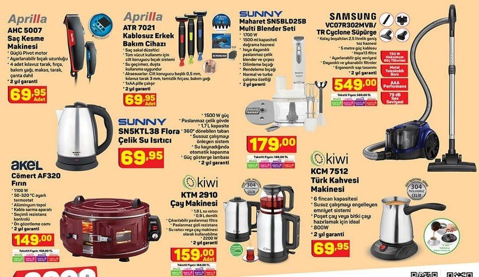 A101 17 Eylül Perşembe aktüel ürünler kataloğu