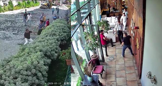 İstanbul'da değnekçi terörü kamerada