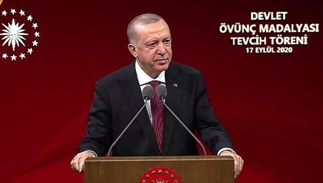 Erdoğan: ''Şantaj ve tehdide boyun eğmeyeceğimizi anladılar''