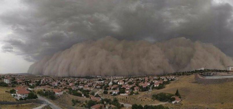 Ankara'yı vuran kum fırtınasının nedeni belli oldu