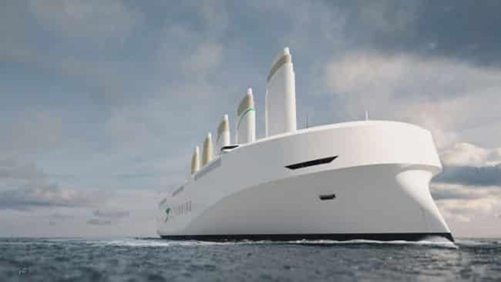 Denizlerdeki karbon emisyonlarını yüzde 90 azaltacak yelkenli kargo gemisi!