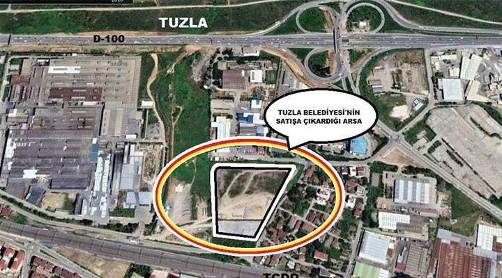 İBB'ye hayır diyen AK Parti Tuzla'da arsa satıyor
