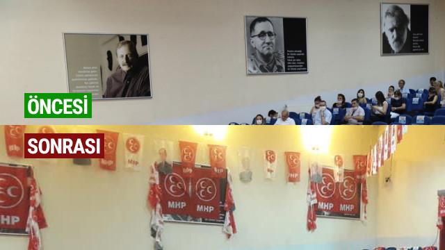 MHP kongresinde o isimlerin üstü kapatıldı