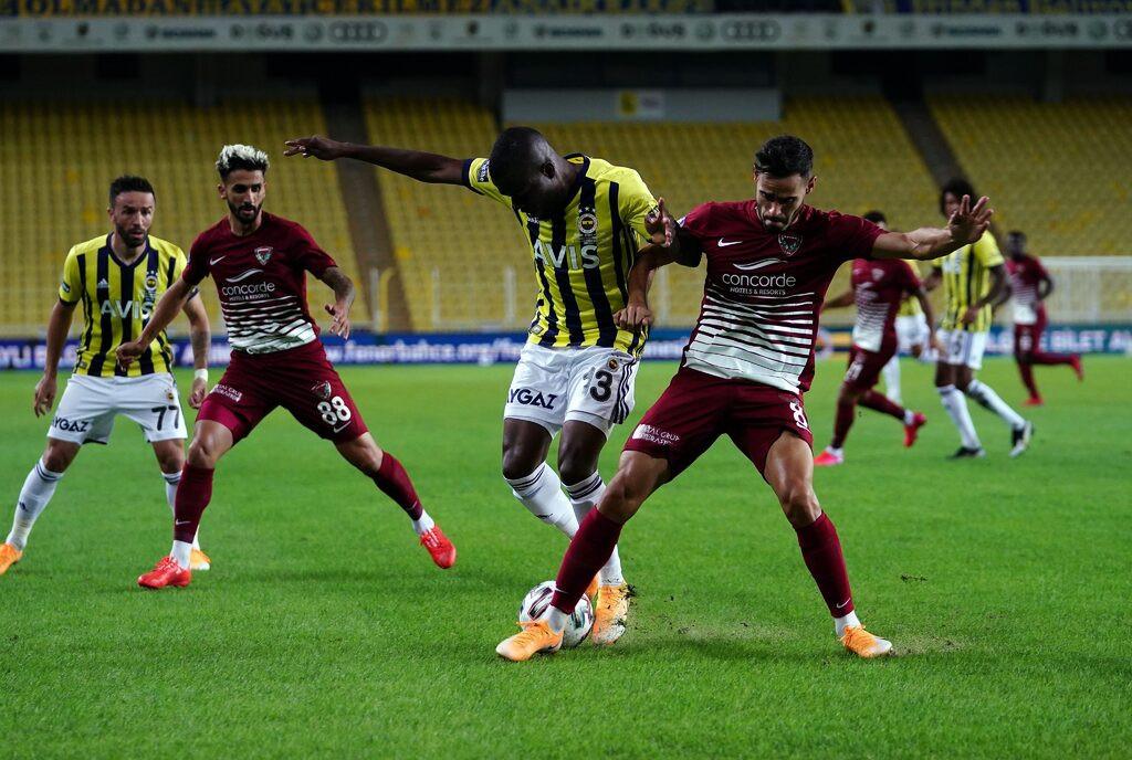 9 kişi kalan Hatayspor, Fenerbahçe'den puanı kaptı!