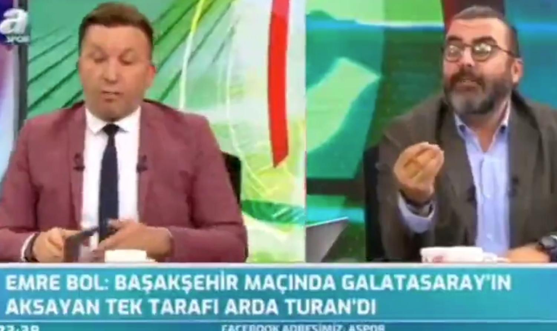 A Spor'da kıyamet koptu! Evren Turhan yayını terk etti!