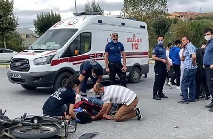 İstanbul'da korkunç kaza! Annesi kahroldu