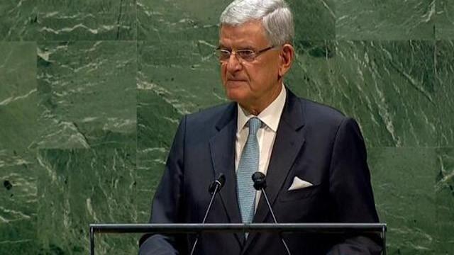 İlk Türk Genel Kurul Başkanı Volkan Bozkır'dan açıklamalar