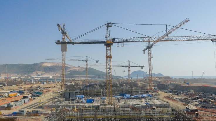 Akkuyu nükleer santral inşaatında maaş krizi