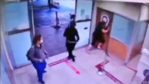 Hastaneyi birbirine katan kadın tutuklandı