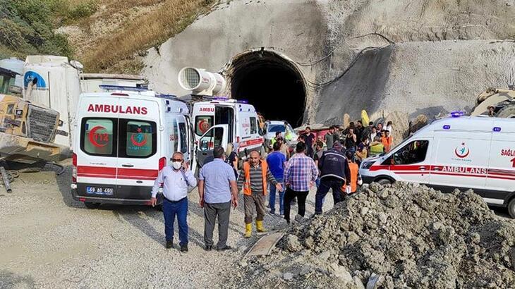Erzurum'da tünel inşaatında patlama! Yaralılar var