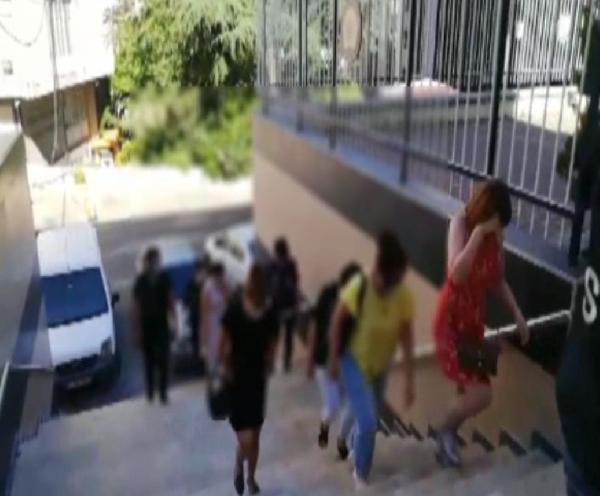 İstanbul'da fuhuş rezaleti! 29 kadın kurtarıldı