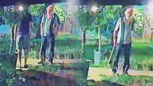 Halil Sezai'nin darp ettiği kişinin baltalı görüntüsü ortaya çıktı