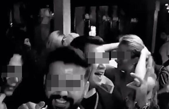 İstanbul'da skandal parti! Ne tedbir dinlediler ne de mesafe